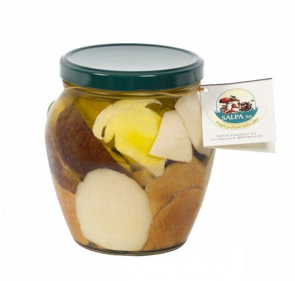 funghi porcini in olio di oliva 580g